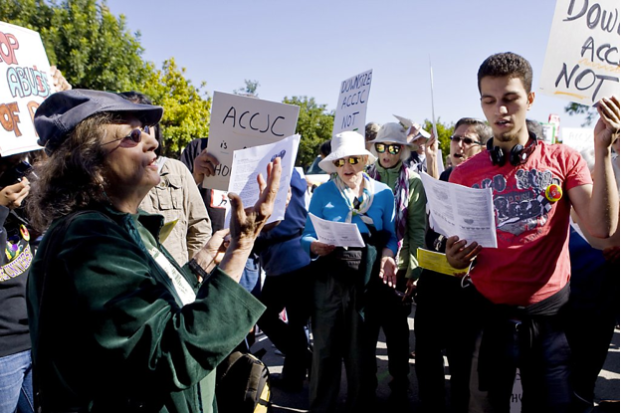CCSSF rally, November, 2013